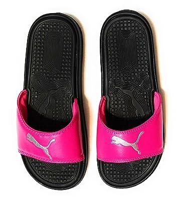 PUMA Women s Pop Cat Athletic Slide Sandals (8 bf7351716