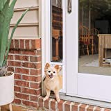 PetSafe Sliding Glass Cat and Dog Door Insert - Great for Apartment and Patio Slider Doors - Small, Medium, Large Pets