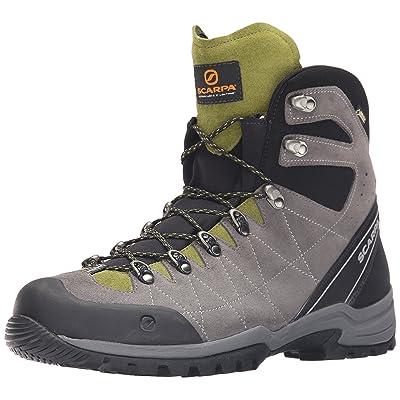 SCARPA Men's R-Evolution GTX Hiking Boot-M, Titanium/Grasshopper, 45 EU/11.5 M US   Hiking Boots