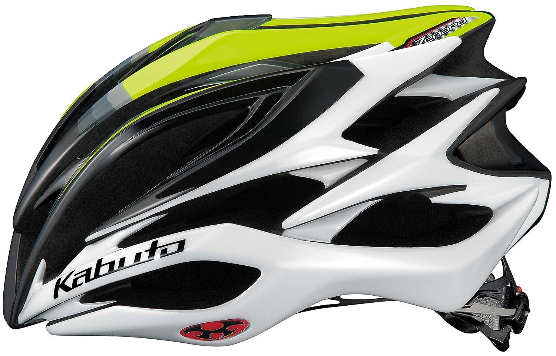 OGK KABUTO(オージーケーカブト) ヘルメット ZENARD アクトイエロー L (頭囲 59cm~60cm)