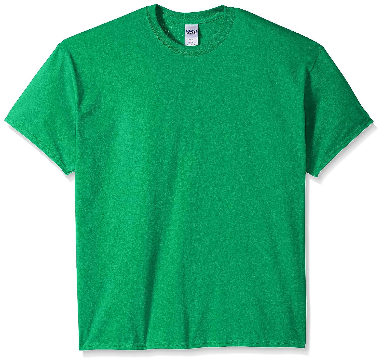 (ギルダン) Gildan メンズ ウルトラコットン クルーネック 半袖Tシャツ トップス 半袖カットソー 定番アイテム 男性用 B01LXRYUHJ XX-Large グリーン(Antique Irish Green) グリーン(Antique Irish Green) XX-Large