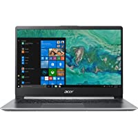 "Acer Swift 1 SF114-32-P56T Notebook con Processore Intel Pentium Silver N5000, Ram da 4 GB, 128 GB SSD, Display 14"" FHD IPS LED LCD, Scheda grafica UHD 605, Windows 10 Home, Silver"