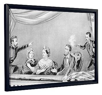 Jp London Sfcnv2520 Vintage Assassination Abraham Lincoln Cartoon