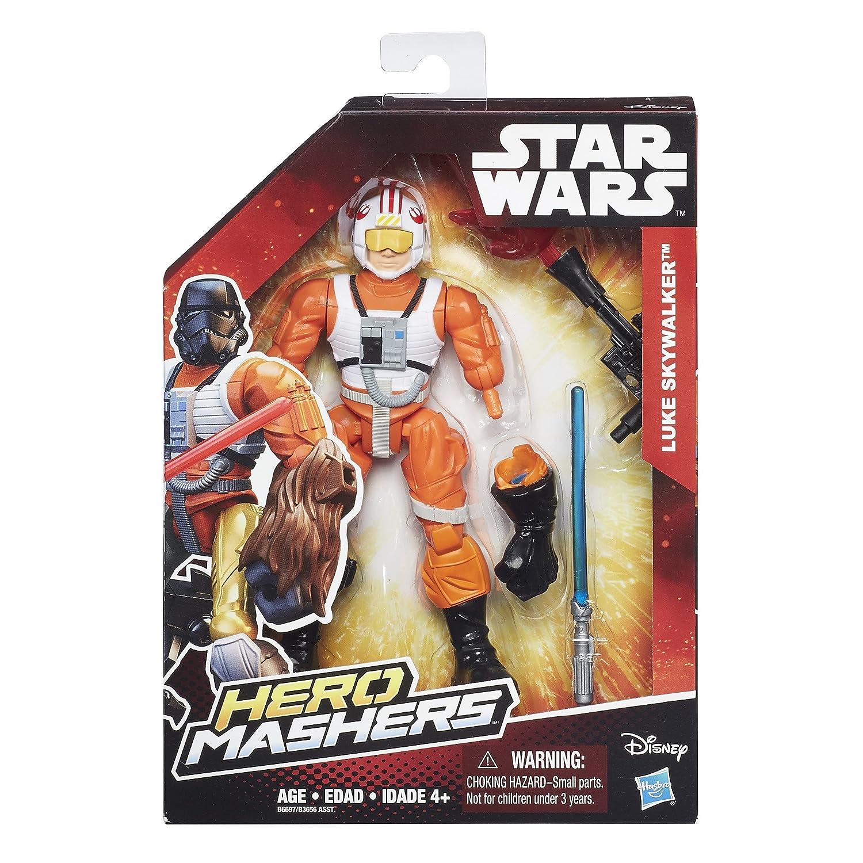 Star Wars Hero Mashers Luke Skywalker Figure