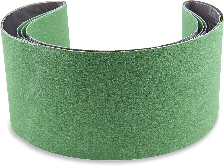 "1/"" X 30/"" 40 Grit Metal Grinding Sanding Belts Long Life Pack of 10"
