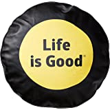 Life is good Tire Cover Dot Tire Cover (Night Black)