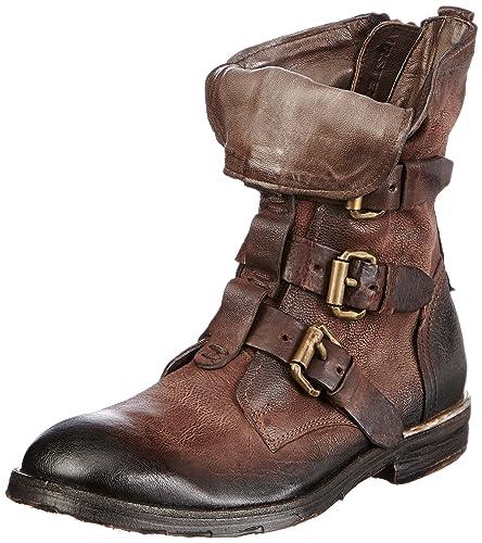 buy popular db194 14824 Airstep 334204 Men's Biker Boots Brown Braun (Fondente 6507 ...