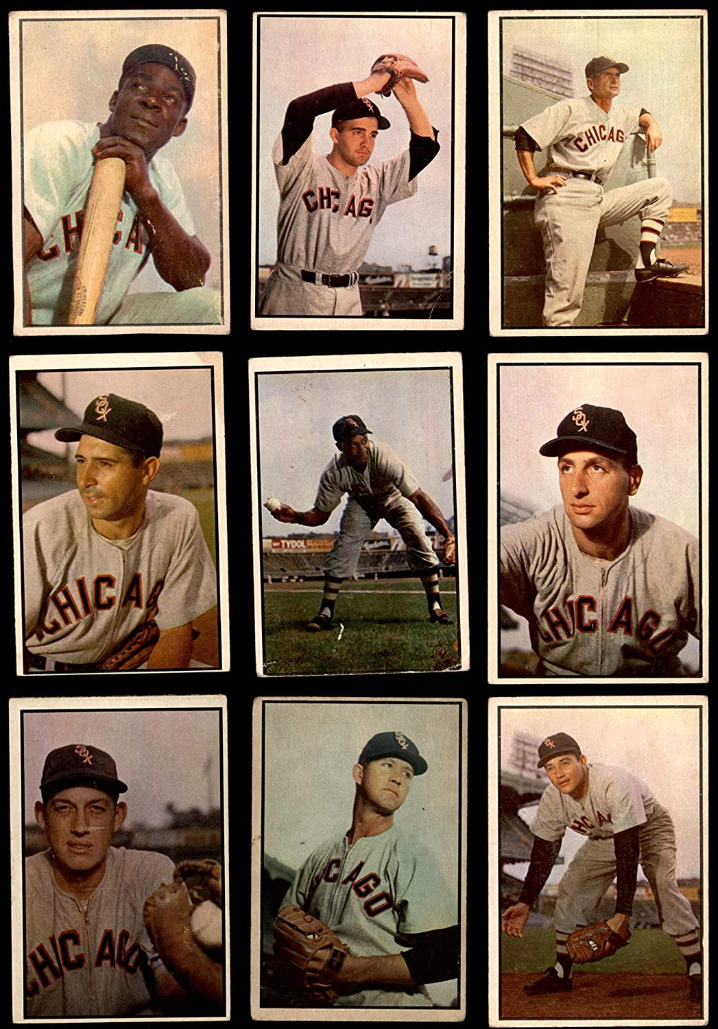 1953 Bowman Chicago White Sox Near Team Set Chicago White Sox (Baseball Set) Dean's Cards 3 - VG White Sox 910VBTvg6NLSL1500_