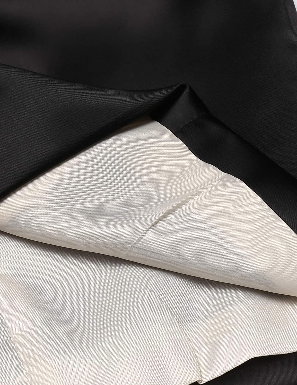 COOFANDY Men Floral Party Tuxedo Vest V-Neck Lapel Dress Suit Vest Waistcoat ZTJ000418