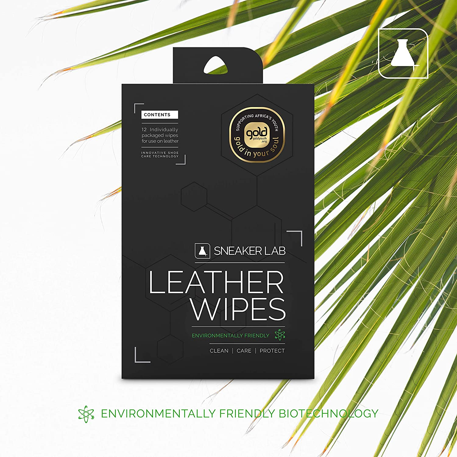 All Purpose /& Leather Specific Options Available Sneaker LAB Shoe Wipes 12 Individual Wipes Per Pack