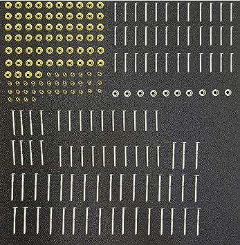 Amazon Com Peterbilt 379 Stainless Steel Huck Rivet Kit For Grille Surround Automotive