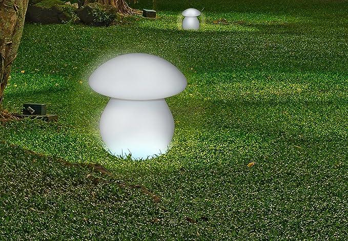 Mervyn lampada fungo con led multicolore cm senza fili e