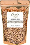 Antep Turkish Pistachios 1 Pound - 16 Ounce Roasted and Salted Premium Pistachios in Sealed Bag