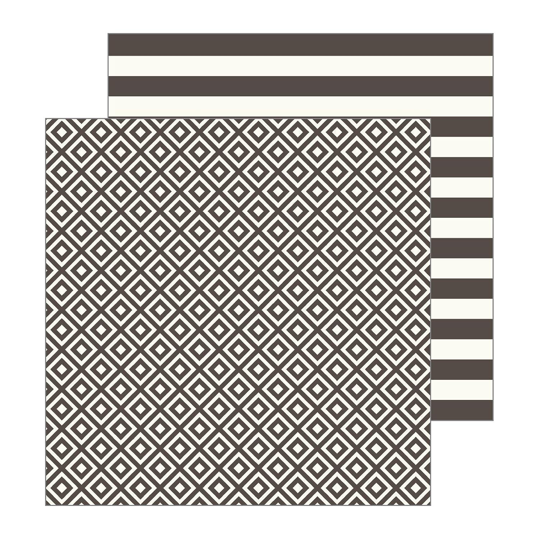 Jen Hadfield 732869 Welcome Mat Patterned Paper Black