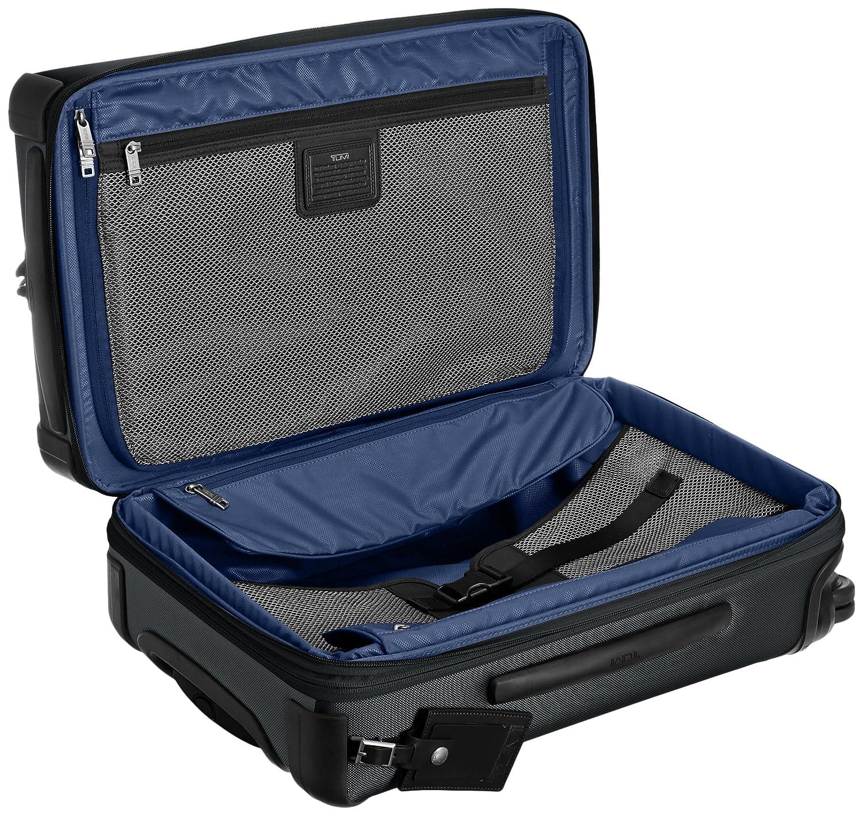 Tumi Alpha International Expandable 4 Wheel Carry On Hanger 2 Pewter Luggage
