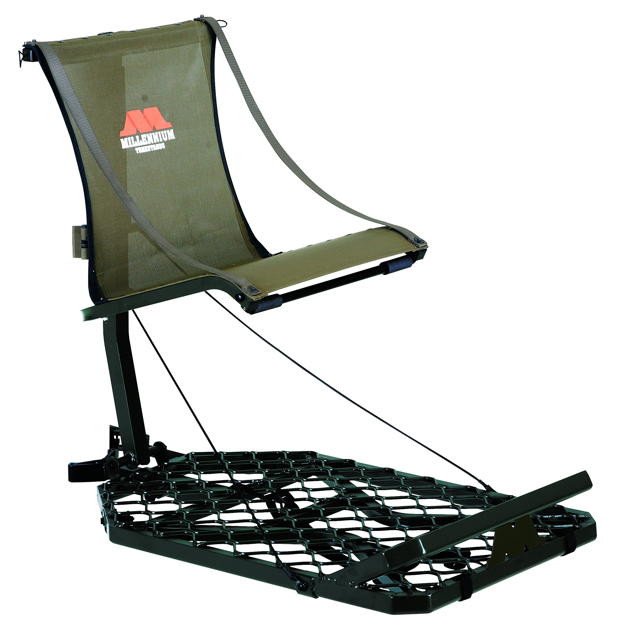 Millennium Treestands M150 Monster Hang-On Tree Stand (Includes SafeLink Safety Line) by Millennium Treestands