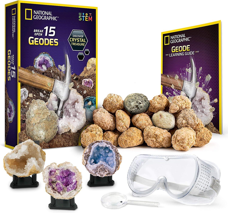 National Geographic Geodas para Romper e inspeccionar, 15 Unidades ...