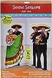 Amscan Fiesta Dancers Mariachi Scene Setters Add-Ons