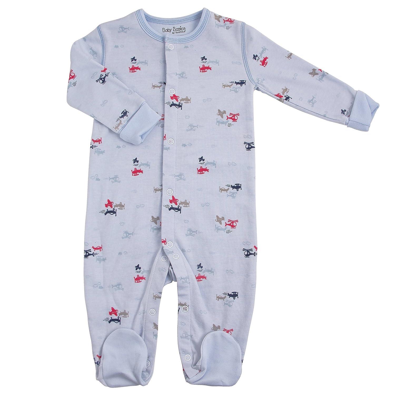 Kushies Cotton Baby Pajamas Boys Footed Sleeper Footie Sleep N Play One Piece