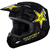 Fly Racing 2019 Elite Rockstar Helmet Matte Black/Gray Medium