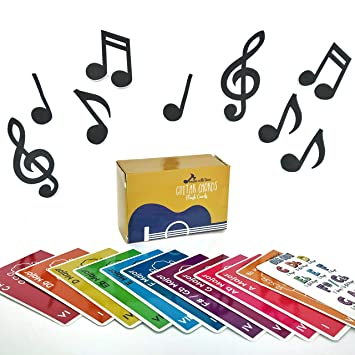 made with tone guitar chords flash cards a great gift for music lovers and