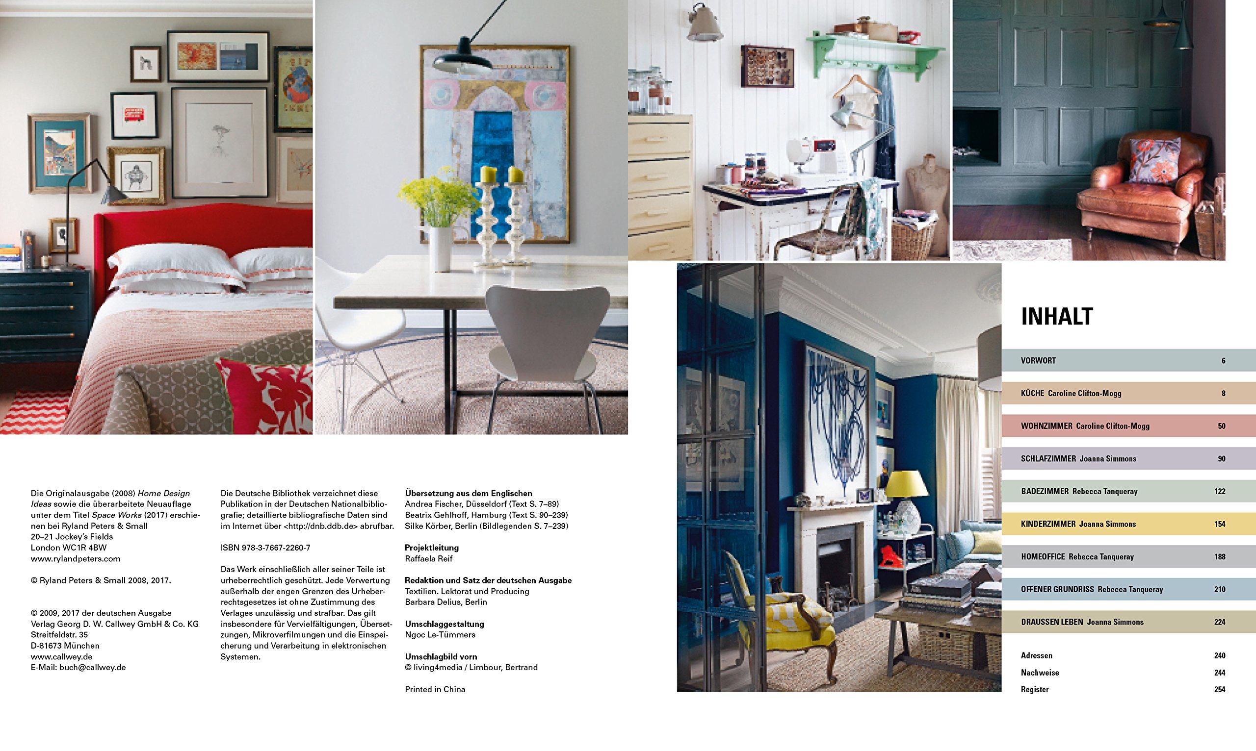 Das große Wohnbuch: 1.000 Ideen für ein schöneres Zuhause: Amazon.co ...