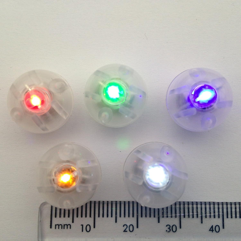 Grün Mini LED Batteriebetrieben (keine Kabel) 5 Stück, perfekt für ...