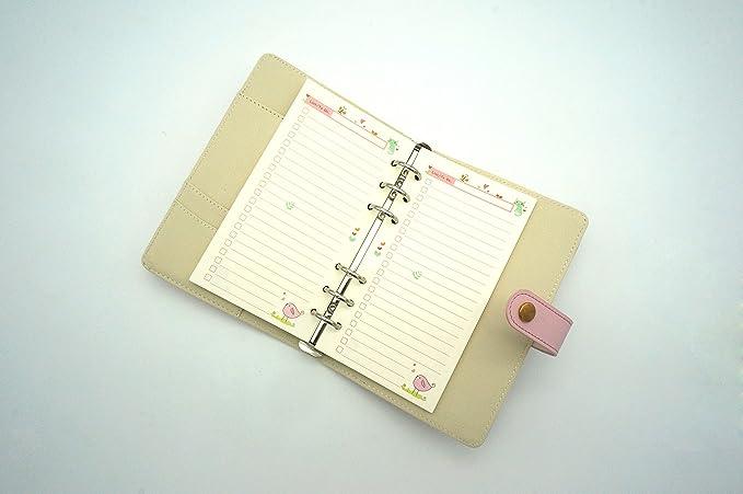 Amazon.com: Harphia - Recambios para cuaderno (A5, A6, hojas ...