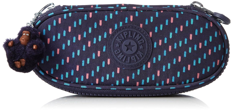 Kipling Duobox Trousses, 20 cm, 1 liters, Bleu (Blue Tan Block) K1290830G