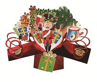 Nutcracker Petite Christmas Pop-Up Greeting Card Second Nature 3D Pop Up Cards