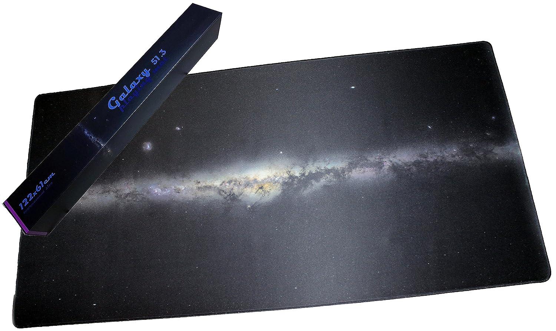 Tabletop Spielmatte Weltraum Space Galaxy 51.3 in Turniergröße 122x61cm (2'x4') Tischauflage Spielteppich Tischmatte