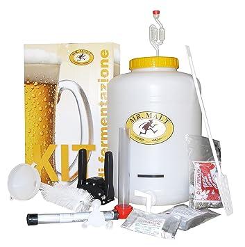 """Juego de cerveza de lujo """"Mr.Malt"""" para hacer la cerveza en. Pasa ..."""