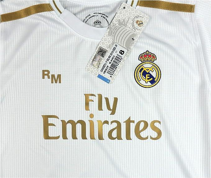 Mesures 140 x 20 cm Produit Officiel sous Licence Echarpes Telar n/º 14 Blanc Real Madrid