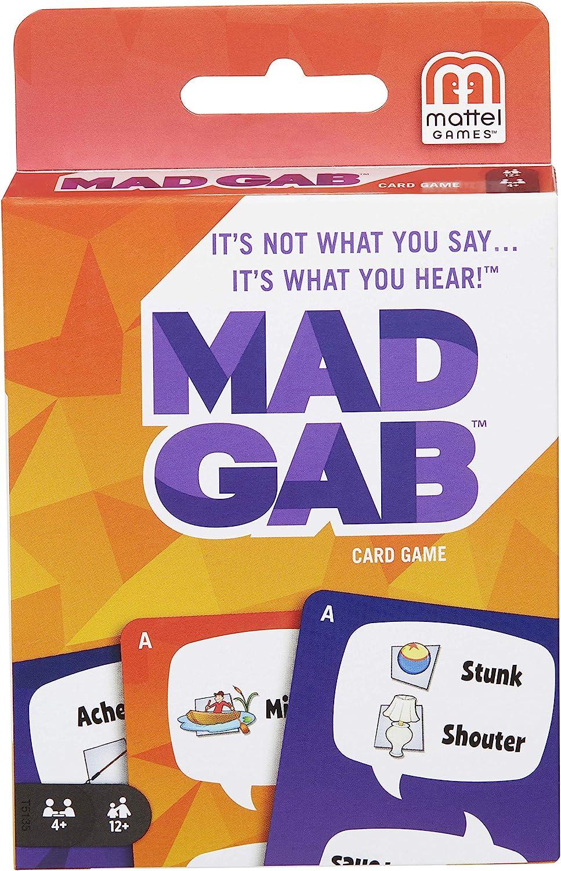 Mad Gab Picto-Gabs Card Game by Mattel: Amazon.es: Juguetes y juegos