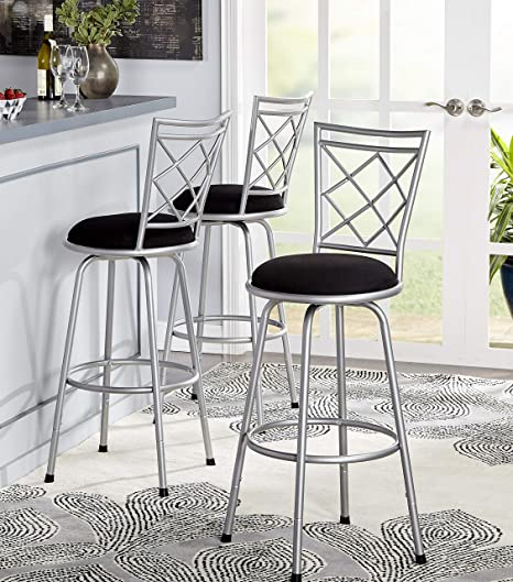 Remarkable Amazon Com Love Us Adjustable Height Bar Stool Swivel Dailytribune Chair Design For Home Dailytribuneorg