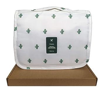 Amazon.com: Bolsa de aseo portátil espacioso para colgar ...