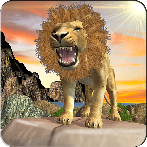 Amazon Jungle Lion Simulator 3D: Hero Hunter hard Time survivor Tiger Warrior Revolution Adventure Mission Games Free For Kids 2018 ()