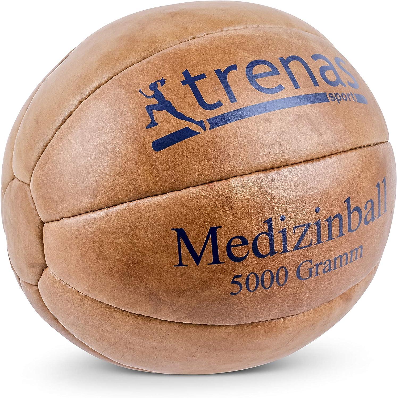 trenas Balón Medicinal de Cuero – 5000 Gramos: Amazon.es: Deportes y aire libre