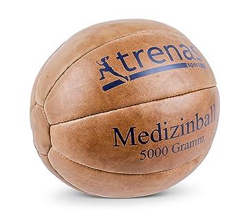 trenas Balón Medicinal de Cuero - 5000 Gramos: Amazon.es: Deportes ...