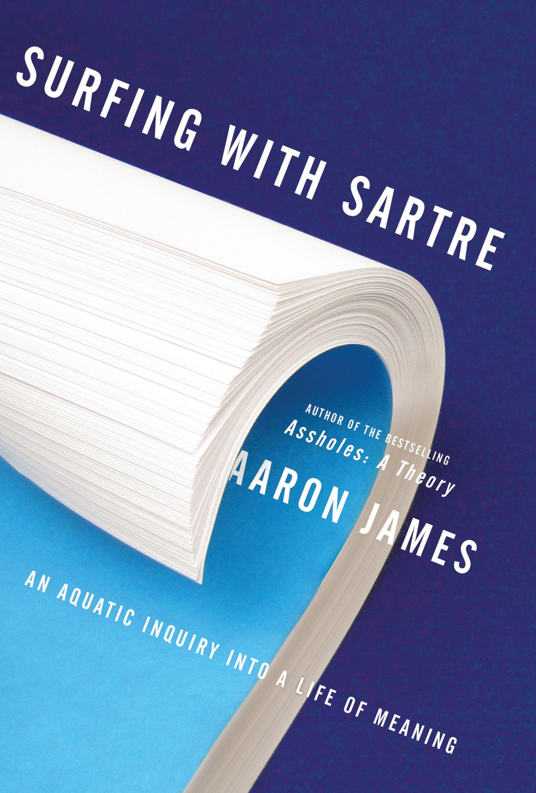 Surfing with Sartre: An Aquatic Inquiry Into a Life of Meaning por Aaron James