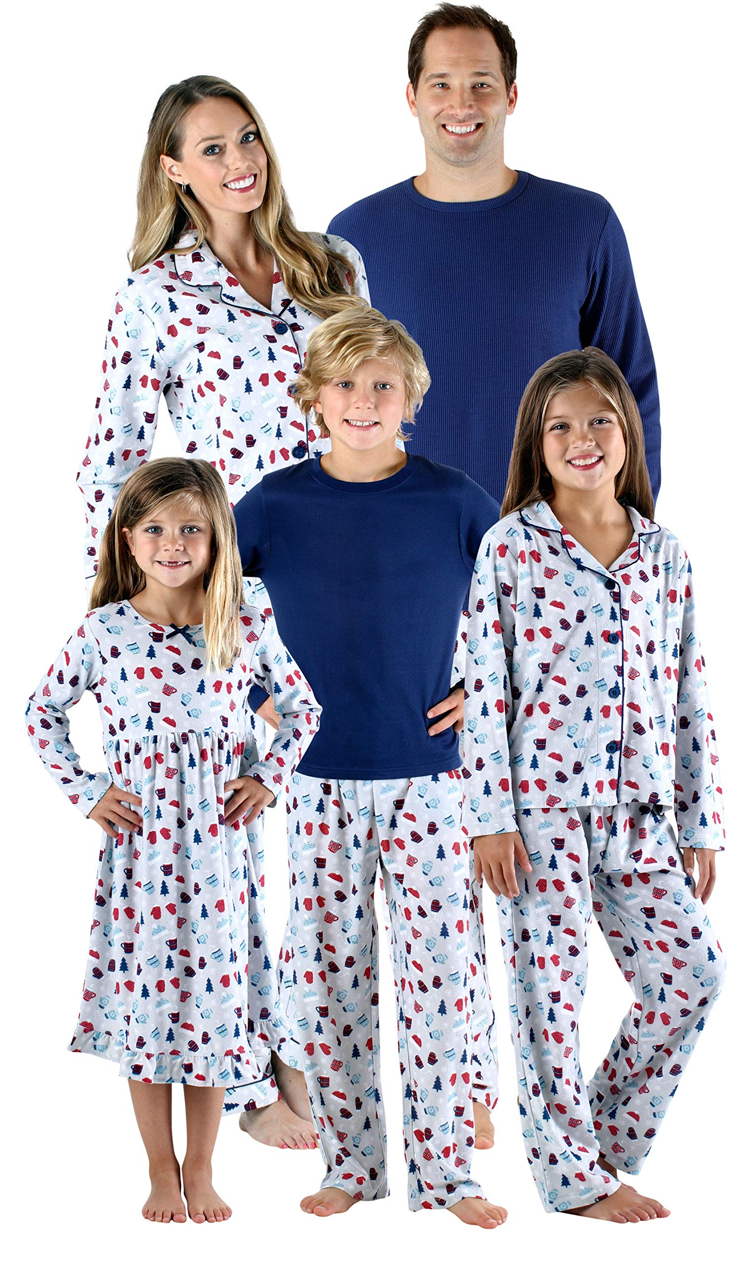SleepytimePjs Holiday Family Matching Hot Cocoa PJs Sets for The ... 92cdbbdf7