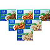 HMR Tasty Trio 6 Count Variety Pack, includes two of each of Penne Pasta with Meatballs in Sauce, Rotini Chicken Alfredo and Lentil Stew 7.0-8 oz.