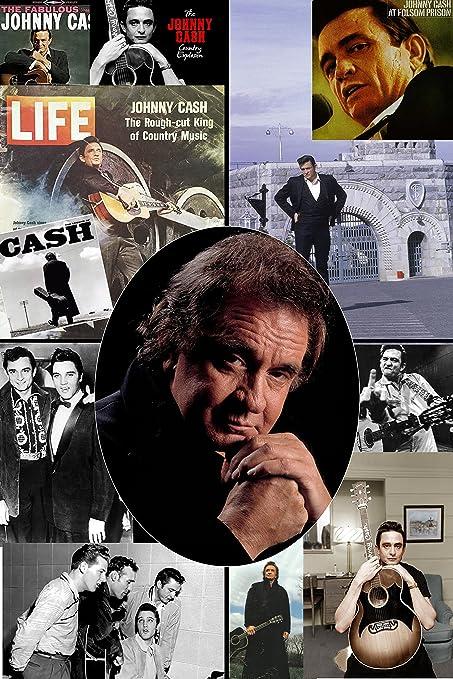 Amazon Com Xxl Poster 20 X 30 Collage Johnny Cash Tribute