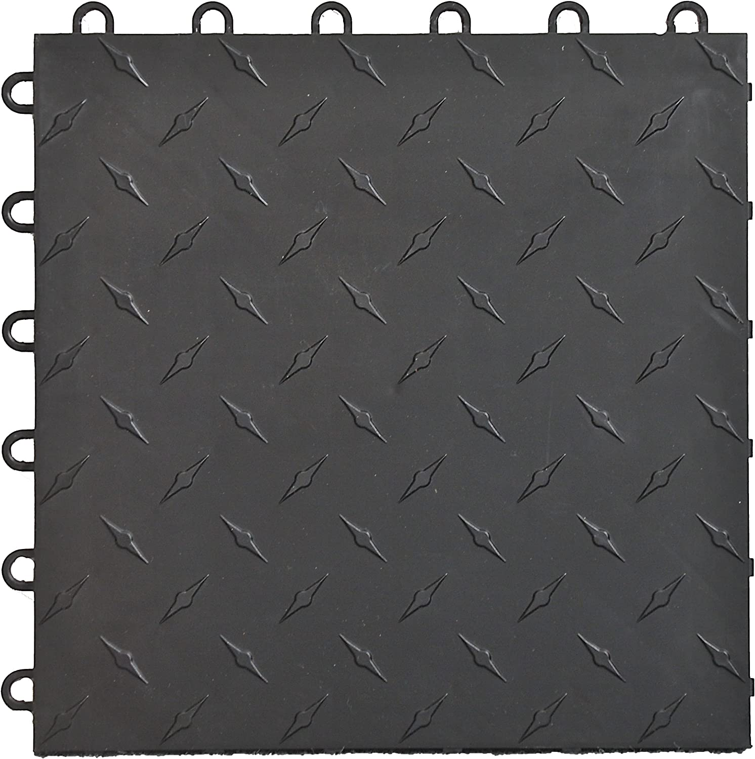 Speedway Diamond Garage Floor Tile