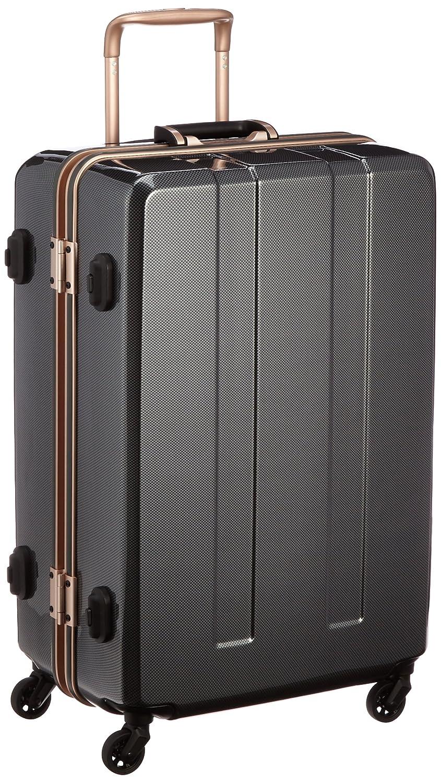 [レジェンドウォーカー] legend walker スーツケース71L 4.4kg 重量チェッカー付 B00Q3UAEU2カーボン