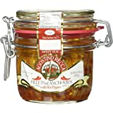 Italian Anchovy Fillets with Hot Chili in Bail Top Mason Jar (8.4 ounce)