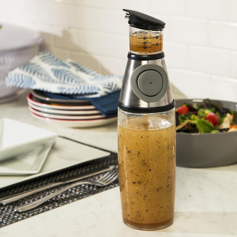 HoneyCanDo KCH-06408 500ml Oil-Vinegar Dispenser