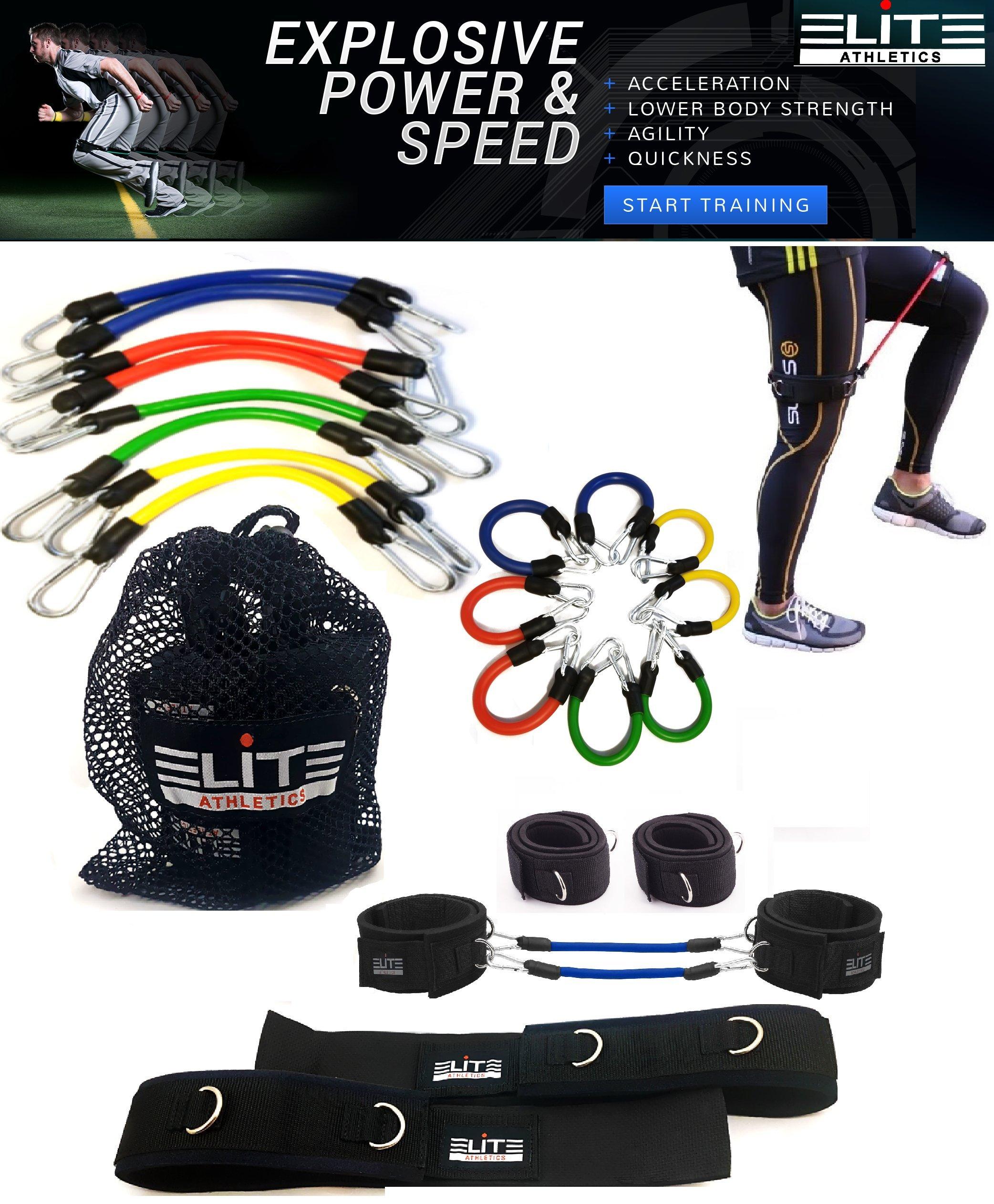 Kinetic Speed Agility Training Strength Leg Resistance