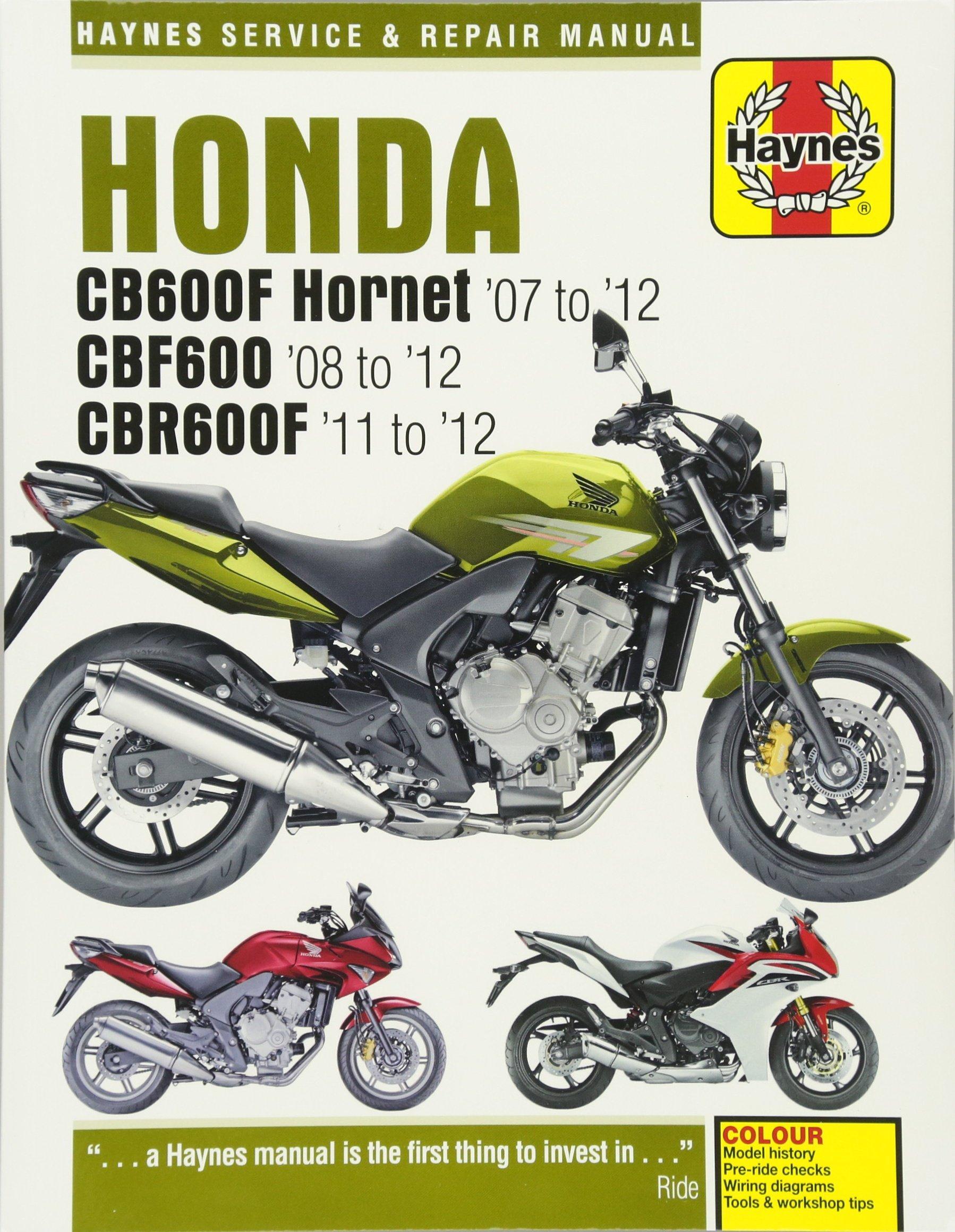 Wondrous Honda Cb600 Hornet Cbr600F 07 1 Amazon De Matthew Coombs Wiring 101 Cranwise Assnl