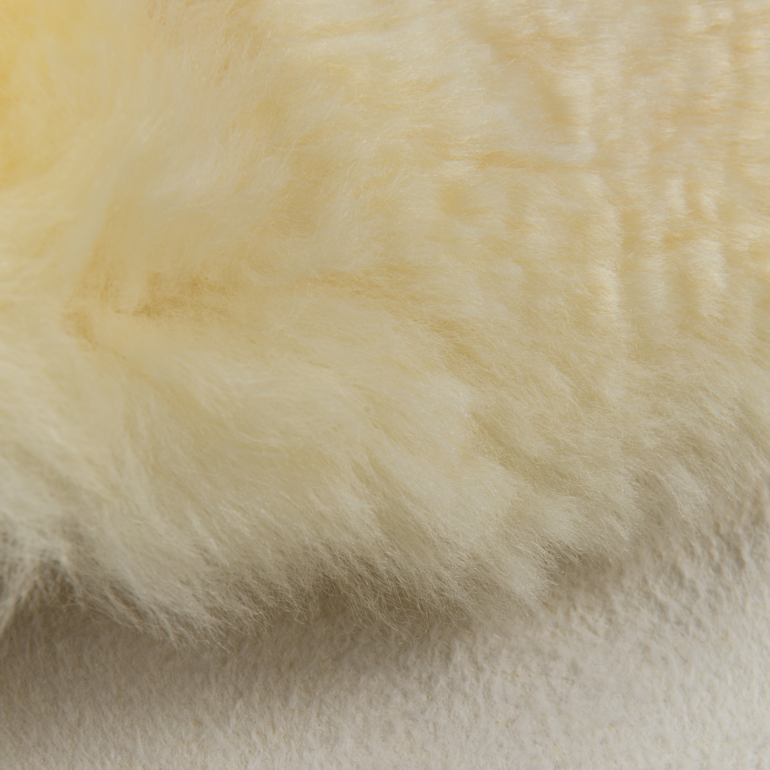 DMI Natural Sheepskin Wool Comfort Mattress Bed Pad Bed Mat, Washable, 8 to 9 Square Feet, Beige by Briggs (Image #3)